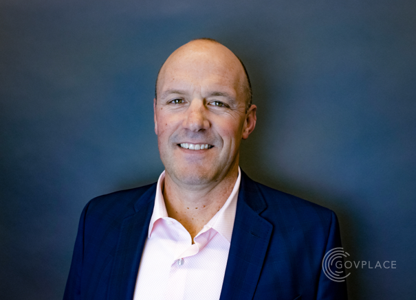 Headshot of Patrick Herwig, Govplace Senior Vice President of Sales